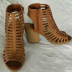 d1272b6e67f Gladiator sandals Worn once! Cute 4 inch block heels