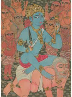 Paramchaintanya Men — Bhairava-Shiva as the Master of Demons ...