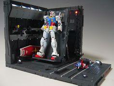 Sf Movies, Sci Fi Models, Base, Movie Props, Gundam Model, Warhammer 40000, Diorama, Dioramas, Warhammer 40k