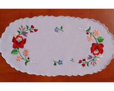 Lovely Kalocsa embroidery beautiful present by kalocsa on Etsy