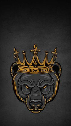 Grizzly King iPhone Wallpaper - iPhone Wallpapers