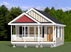 16x32 Tiny House -- #16X32H1V -- 511 sq ft - Excellent Floor Plans
