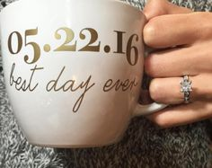 Future Mrs _____ Ring Coffee Mug For Newly by FutureMrsDesigns