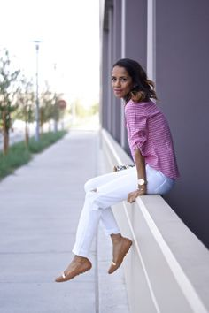 Sporting the perfect spring loafer fab found at marshalls. weekend style, casual style