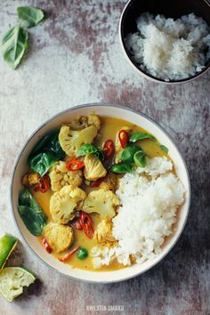 Chicken Cauliflower Curry
