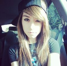 Christina Grimmie #thatvoice THIS HAIR! THIS HAIR! THAT'S EXACTLY HOW I WANT IT! Length of the bangs is too short and doesn't cover enough eye how I want it but color and all yesyesyes