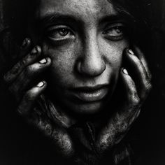 PHOTO by Lee Jeffries  She has been through so much and uncertain if the stress will wear her spirit down.  She wonders, and her fears creep into her mind frightening her more.  Dear lady you need to stop that negative thinking.