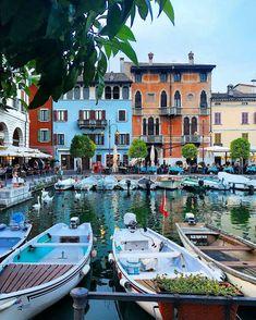 HIP. locations . travel . Desenzano Del Garda . Garda Lake . Italy