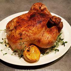 Edels Mat & Vin: Grillet hel kylling i AirFryer ♫ Turkey, Meat, Food, Wine, Red Peppers, Turkey Country, Meals, Yemek, Eten