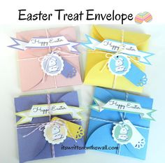 It's Written on the Wall: (freebie) Easter Petal Envelope for Gift Cards & Treats