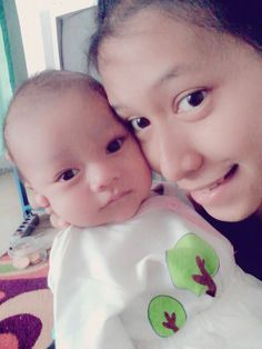 Like Mother Like Son.. See our eyes Same, rigth?