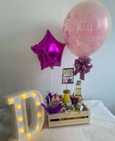 Pokemon Birthday, 4th Birthday, Diy Gift Baskets, Balloon Gift, Craft Shop, Balloons, Lunch Box, Birthdays, Diy Crafts