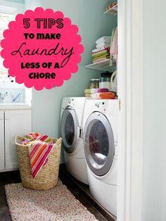 5 tips to make doing laundry less of a chore  Tipsaholic.com