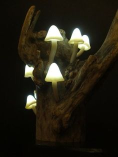 Inspiration Lamp Mushroom Forest Atmosphere Brings The Atmosphere Of Your  Room Into The Jungle At Night