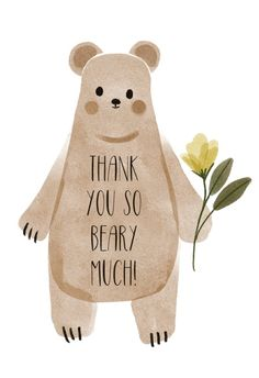Boho Woodland - Thank You Card #greetingcards #printable #diy #thankyou #notes #thanks Thank You Notes, Thank You Cards, Thank You Card Template, Watercolor Animals, Printable Cards, Tack, Woodland, Create Yourself, Greeting Cards