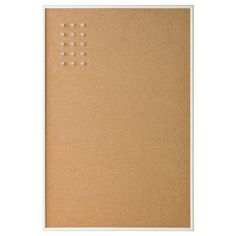 IKEA - VÄGGIS, Memo board with pins, white, Can be hung horizontally or vertically, choose whichever Acrylic Plastic, Clear Acrylic, Range Document, Armoire Pax, Lohals, Personal Storage, Magazine Files, Ikea Family, Messages