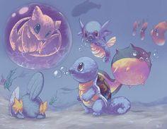Incríveis pinturas digitais de Pokémon!