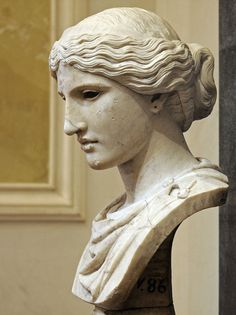 """classical-beauty-of-the-past: """"Head of a Goddess - The State Hermitage Museum """""""
