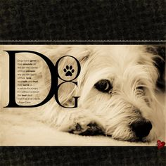 dog - Digital Scrapbooking Ideas - DesignerDigitals