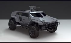 Vehicle sketches for PlanetSide 2, Sam Brown on ArtStation at https://www.artstation.com/artwork/J9oe0