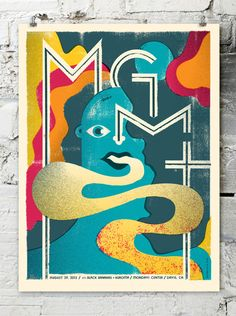 """Mgmt poster"" by Doe Eyed // Color and texture."