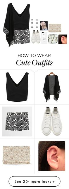 """""""Outfit #108"""" by fran-peeters on Polyvore featuring J.Crew, Golden Goose, Accessorize and Topshop"""