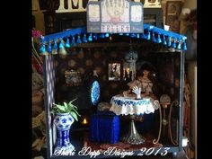 Handmade Fortune Teller Roombox for 15 to 17 by ShariDeppDesigns, $495.00