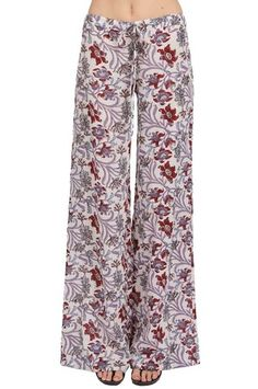 The Drawstring Pant in Casablanca by TYSA at CoutureCandy.com