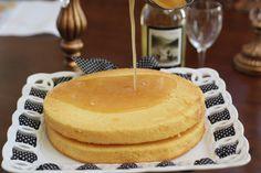 Chardonnay Cake with Grand Marnier Glaze