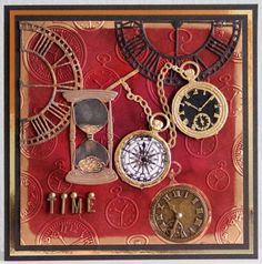Get #steampunk with the new Time Traveller collection from Sheena Douglass, available from #crafterscompanion