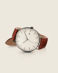 The Minimalist, Gunmetal/Tan  One of our most popular models is taking Kickstarter by storm. Get your elegant watch now by clicking the image.