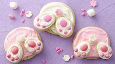 Biscuits en popotins de lapin.