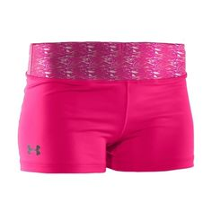 Under Armour Women's HeatGear Sonic Shorts ($25) ❤ liked on Polyvore featuring activewear, activewear shorts, shorts, athletic shorts, bottoms, spandex, dance, under armour and under armour sportswear