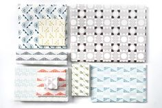 Wrapping paper by Esme Winter