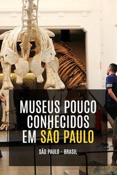 Dicas de Museus pouco conhecidos em São Paulo - Brasil