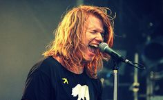 Aaron Gillespie: was in Underoath AND The Almost. Now he does worship in different churches. Amazing!