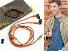 handcandy Leather Headphones