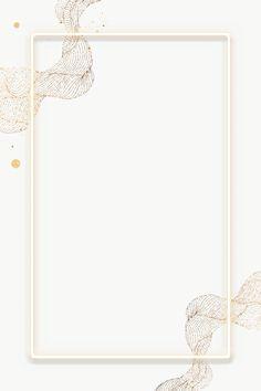 Phone Wallpaper Design, Flower Phone Wallpaper, Cute Patterns Wallpaper, Gold Wallpaper Background, Framed Wallpaper, Wallpaper Backgrounds, Molduras Vintage, Flower Graphic Design, Frame Border Design