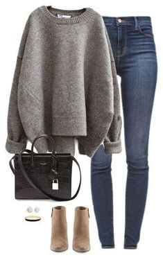 SHOP THE LOOK – casual winter outfit – cute ankle boots – thick sweater - outfit. - SHOP THE LOOK – casual winter outfit – cute ankle boots – thick sweater – outfit.tophaarmodelle, Source by - Pullover Mode, Pullover Outfit, Winter Outfits For Teen Girls, Casual Winter Outfits, Spring Outfits, Winter Sweater Outfits, Fall College Outfits, Polyvore Winter Outfits, Black Outfits