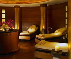 The Spa at Chancery Court, London - The VIP treatment suite is popular among celebrity couples. This unique suite has two treatment couches, its own changing area and a steam shower that seats two people which can be booked by the hour.