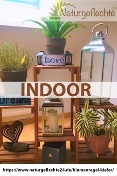 Indoor or outdoor. In winter for flowers and small gifts or for the balcony outside. Wood always gives warmth and a good feeling. Source by naturgeflechte Kiefer, Woodland Party, Holiday Cocktails, Wooden Shelves, Winter Garden, Small Gifts, Small Bathroom, Divider, Balcony