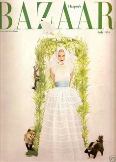 Bazaar July 1954- Sculptor David Hare - Constance Collier - Edinburgh Festival | eBay