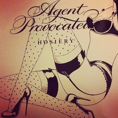 love this packaging design from Agent Provocateur!