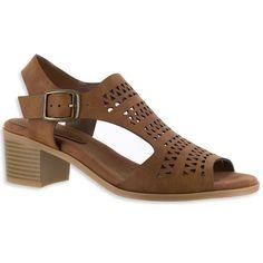 Easy Street Clarity Women's High Heels, Dark Brown