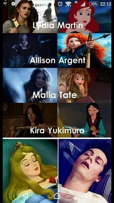 Allison should be Katniss but it's not Disney :/ TOTALLY AGREE W STILES