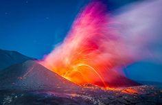 vulcões, imagens