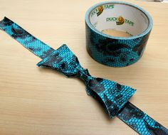 Dope...how to make a duct tape bow tie