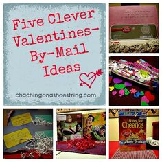 Five Clever Valentines by Mail Ideas | The Dollar Store Diva