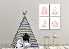 Baby Girl Nursery Decor, Safari Nursery, Nursery Wall Art, Boys Bathroom Decor, Playroom Wall Decor, Animal Decor, Safari Animals, Animal Prints, Etsy Shop