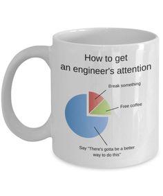Engineer Coffee Mug – Page 3 – Eureka Mugs Engineering Memes, School Of Engineering, Engineering Pick Up Lines, Electrical Engineering Quotes, Civil Engineering, Diy Christmas Gifts For Dad, Merry Christmas, Ingenieur Humor, Engineer Mug